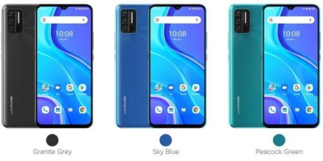 3 types of Umidigi A7s colors