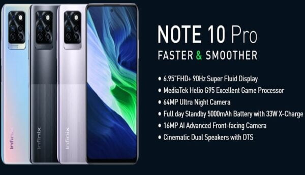 Infinix Note 10 Pro price I Nigeria, full specifications and review