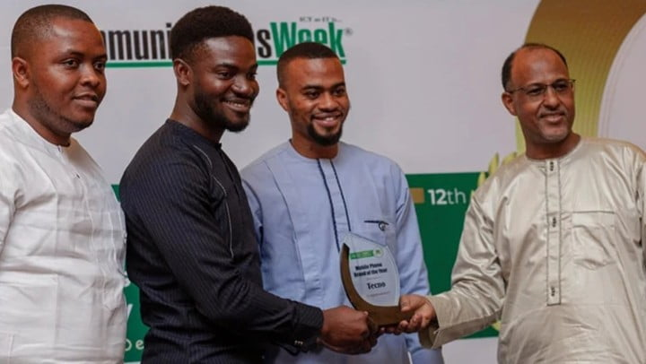 Tecno wins Mobile Phone Brand of the Year