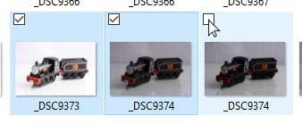 Thêm checkbox để chọn nhiều file, thư mục cùng lúc