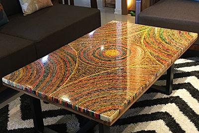 art coffee tables rustic unique