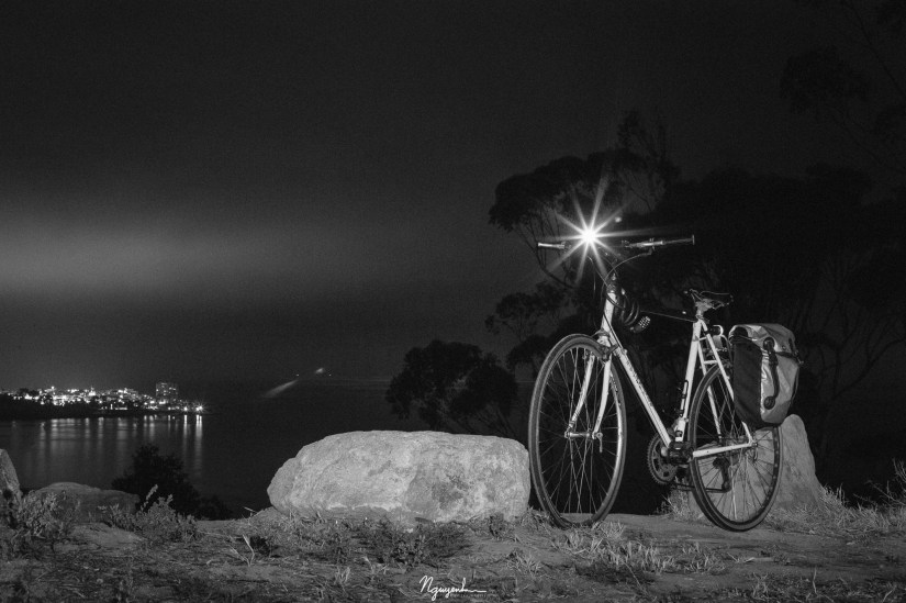 biking late at night
