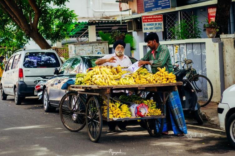 Banana vendor
