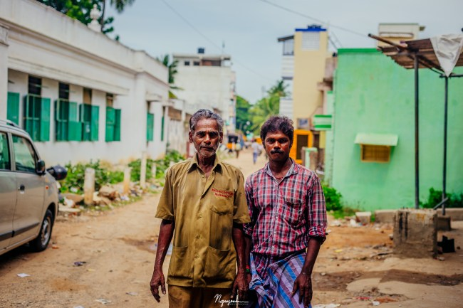 In a neighborhood of India, I encountered many locals who would offer to have their picture taken. If I have a chance to go back, I would definitely bring a mobile photo printer to print photo taken to share with them.