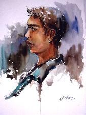Singapore Portrait Oil Painting Commission