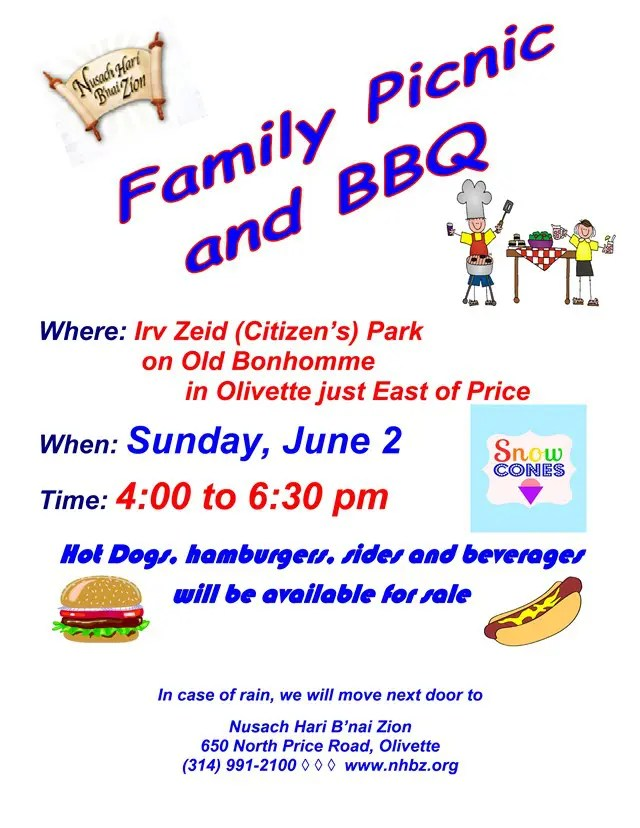 Family Picnic and BBQ