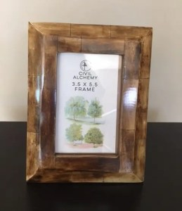 Wood Picture Frame Civil Alchemy