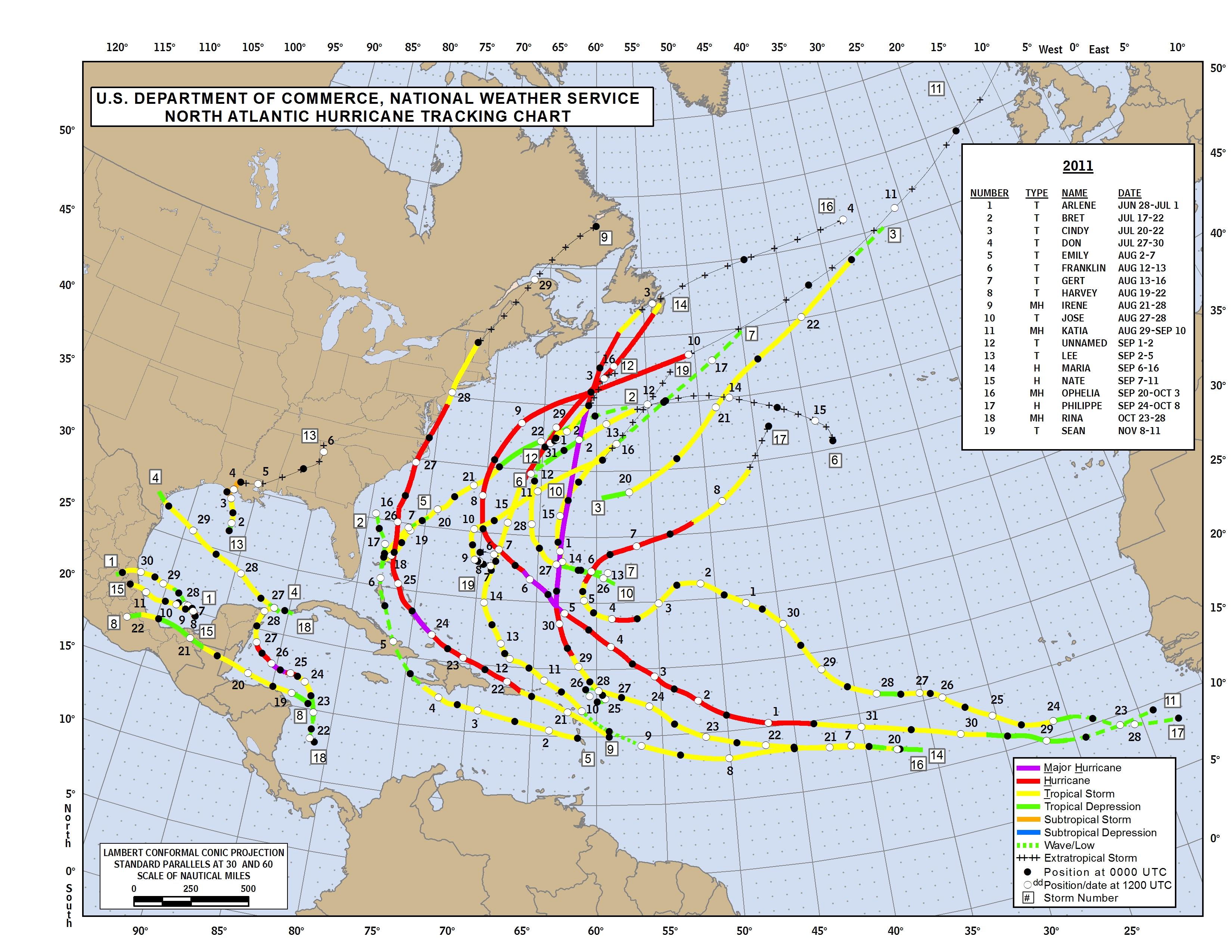 Unit 3 Hurricane Tracks And Energy