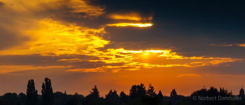 Sonnenaufgang in Zehlendorf © Norbert Domhoefer - nhd-photo.de