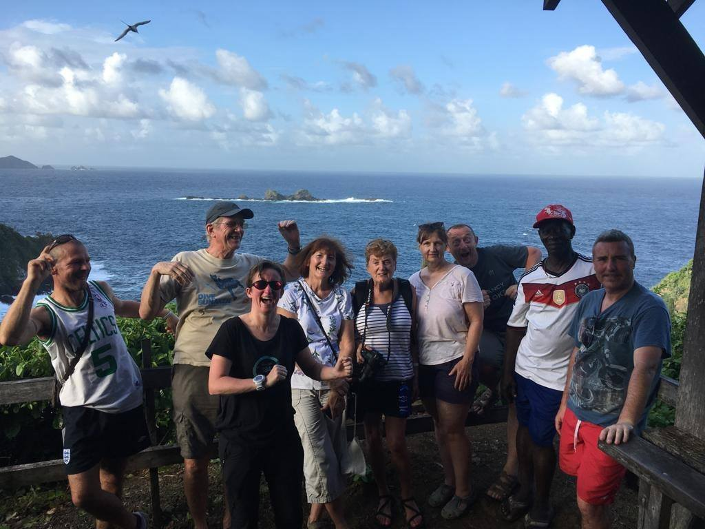 Diving the Caribbean (and Atlantic) - Part of the group