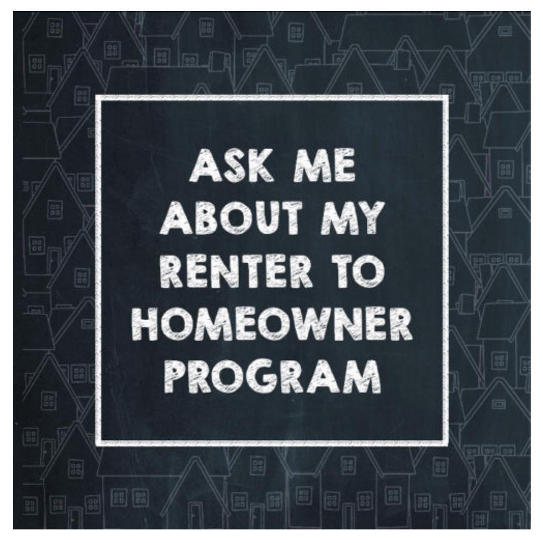 Are you currently renting, but would like to own a home? Give us a call! We can help you figure out the steps to take to make homeownership a reality!
