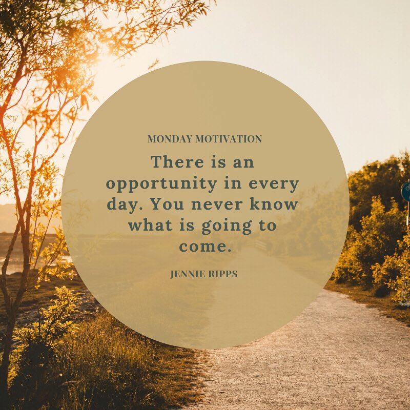 When opportunity knocks, we have to be ready to open the door. If you are actively watching each day, you are ready to take advantage of the opportunities that come your way! #mondaymotivation #nhdi #opportunityknocks #opportunityawaits #eyeswideopen