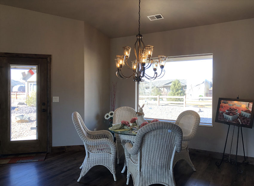 Easter Decorations in Dining Room of 1401 Niblick Way