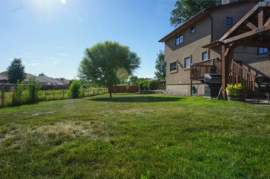 1/2 acre lot gives you a large back yard at 2575 Young Court