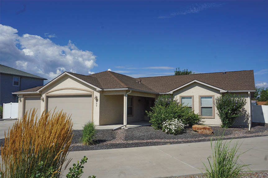 199 Winter Hawk Drive is a 3 bedroom, 2 bath home with a 3-car garage + RV parking.