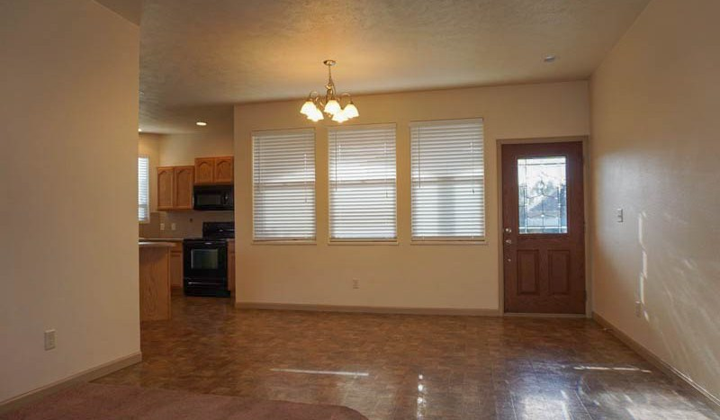 the dining room of 2995 Golden Hawk