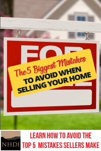 Learn how to avoid the top 5 mistakes sellers make!
