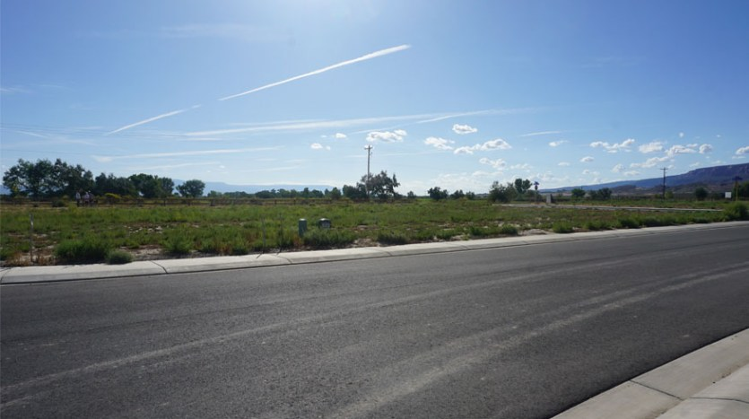 1224 Adobe Falls Way is a vacant lot in Fruita, CO on the perimeter of Adobe Falls Subdivision.