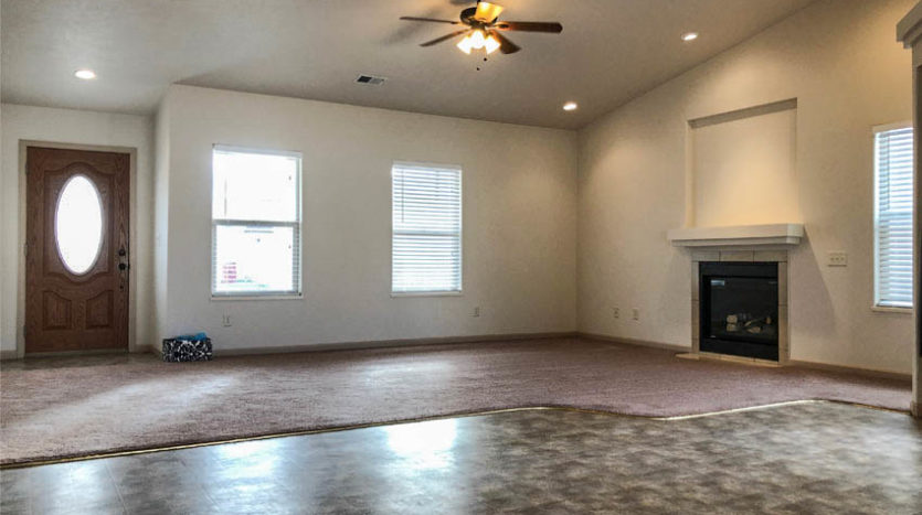 191 Winter Hawk has a large living area with a gas fireplace