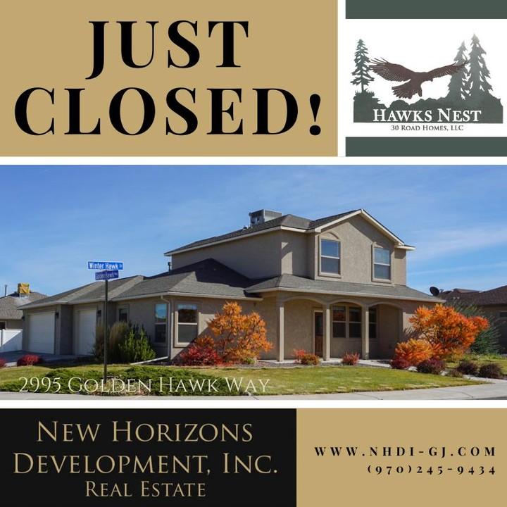 2995 Golden Hawk Way has been purchased!  Welcome to the neighborhood!