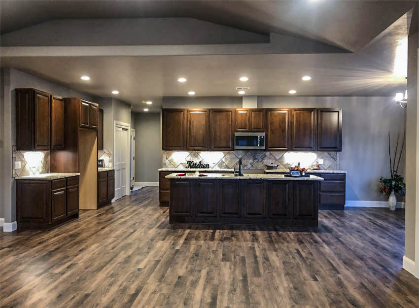The kitchen of 1329 Niblick Way, Fruita
