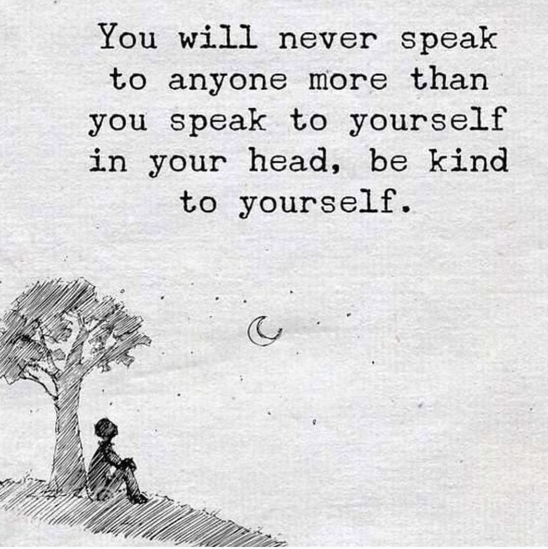 As we close out 2019 and begin 2020, be mindful of the words you speak to yourself – in your head and out loud. ⁣ ⁣ Make 2020 the year that you speak words of love and positivity to the person you will spend your entire life with – yourself.