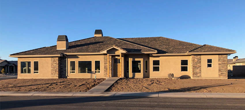 1305 Niblick Way, Fruita. Brand new home on the Adobe Creek golf course in Fruita, CO. 4 bedrooms, 2.5 baths, 3-car garage + RV parking. Gorgeous finishes throughout!