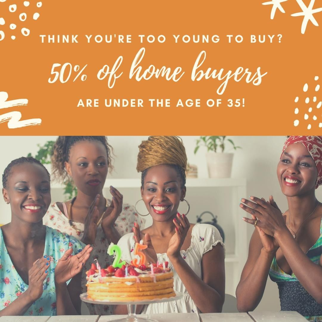 Do you think you're too young to buy a home? 50% of home buyers are under the age of 35. You are never too young to start your financial journey.⁣ ⁣ If you have questions about how to prepare to purchase a home, give us a call! We would love to help you take those first steps towards home ownership.⁣ ⁣ 𝐍𝐞𝐰 𝐇𝐨𝐫𝐢𝐳𝐨𝐧𝐬 𝐃𝐞𝐯𝐞𝐥𝐨𝐩𝐦𝐞𝐧𝐭, 𝐈𝐧𝐜.⁣ 𝟗𝟕𝟎-𝟗𝟖𝟓-𝟗𝟒𝟑𝟐 |  𝐈𝐧𝐟𝐨@𝐍𝐇𝐃𝐈𝐆𝐉.𝐜𝐨𝐦