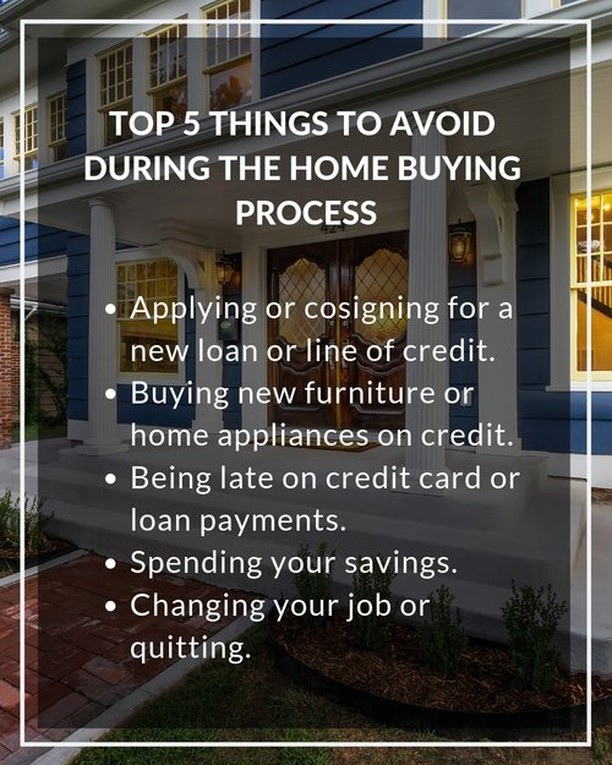 If you are looking to purchase a home, here are a few things you want to avoid if at all possible.  No new lines of credit, no extra spending (including from savings), and keep that job until you close!  If you have questions about the process, give us a call! We will answer what we can, and we can introduce you to several local lenders to help you get the process going!  𝐍𝐞𝐰 𝐇𝐨𝐫𝐢𝐳𝐨𝐧𝐬 𝐃𝐞𝐯𝐞𝐥𝐨𝐩𝐦𝐞𝐧𝐭, 𝐈𝐧𝐜. 𝟗𝟕𝟎-𝟗𝟖𝟓-𝟗𝟒𝟑𝟐 |  𝐈𝐧𝐟𝐨@𝐍𝐇𝐃𝐈𝐆𝐉.𝐜𝐨𝐦