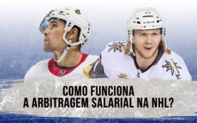 Explicação de como funciona a arbitragem salarial na NHL