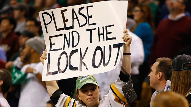 Fã pede fim de Lockout na NHL
