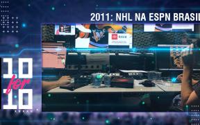 O começo das transmissões da NHL na ESPN Brasil