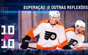Oskar Lindblom foi uma história de superação na NHL em 2020