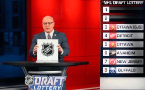 Bill Daly na Loteria do NHL Draft de 2020