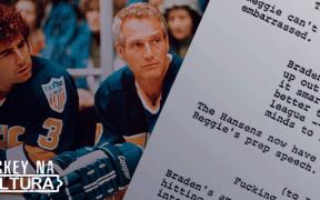 Hockey no cinema; entrevista com roteirista