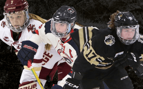 Taylor Girard, Emilie Harley e Maegan Beres, o top 3 do NWHL Draft 2021