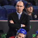 O agora ex-treinador assistente do Columbus Blue Jackets Sylvain Lefebvre