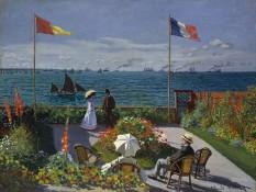 """""""Claude Monet - Jardin à Sainte-Adresse"""" by Claude Monet - The Metropolitan Museum of Art. Licensed under Public Domain via Wikimedia Commons - http://commons.wikimedia.org/wiki/File:Claude_Monet_-_Jardin_%C3%A0_Sainte-Adresse.jpg#/media/File:Claude_Monet_-_Jardin_%C3%A0_Sainte-Adresse.jpg"""