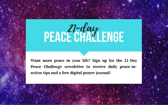 21 day Peace Challenge