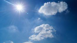 high noon sun