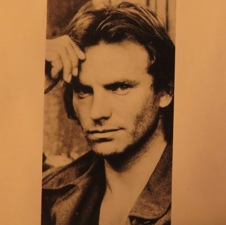 Sting. Photograph from album Nothing Like the Sun. Photo: TongMai