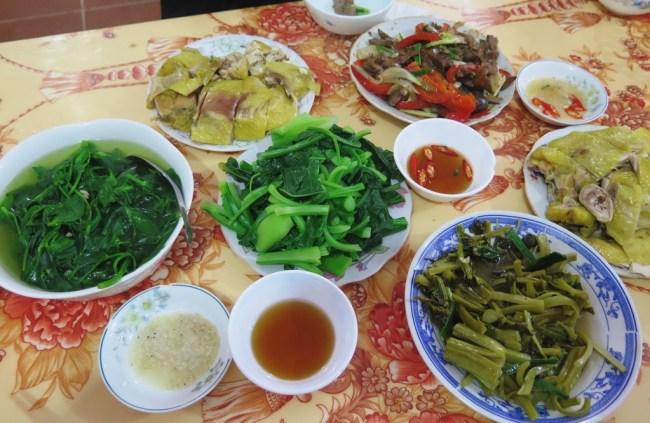 Phố Cỗ Đồng Văn – Ăn tối