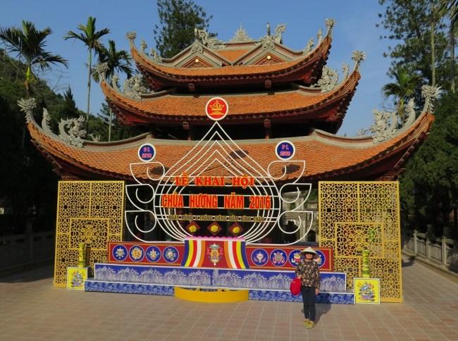 iTháp chuông chùa Thiên Trù