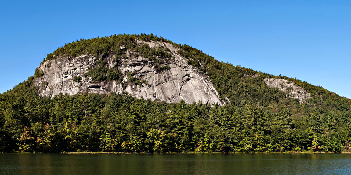 Whitehorse Ledge above Echo Lake, photo by Brian Post.