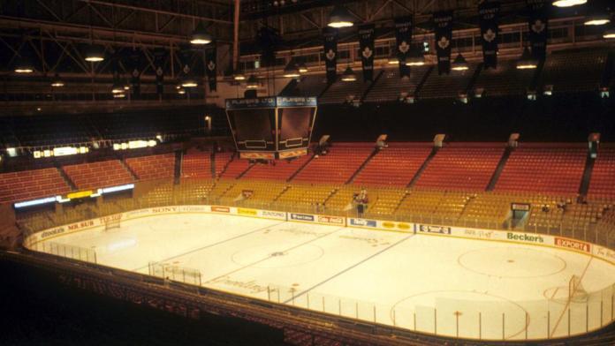 Maple Leaf Gardens November 12 NHL History