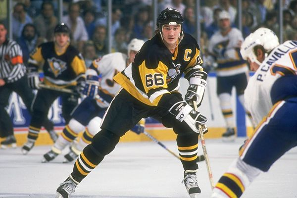 Mario Lemieux January 12 NHL History