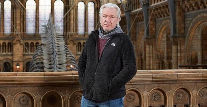 Principal Curator of Mammals Richard Sabin. Image: Channel 5.