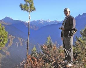 Prem Budha in Langtang National Park, Nepal.