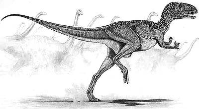 How Abelisaurus may have looked.