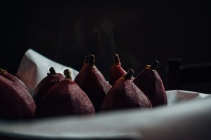 Sunday's #SlowlivedMoments: Pears Poached in Red Wine & Rosemary